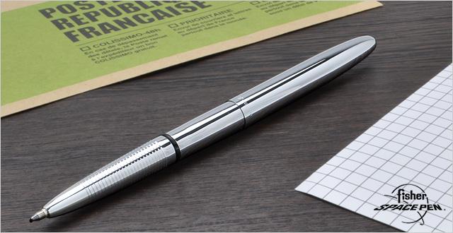 フィッシャー ボールペン ブレット EF-400 クローム