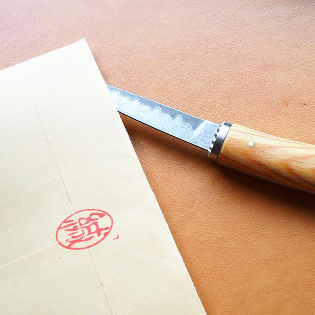 Pent〈ペント〉×FEDECA(フェデカ)&杢杢工房 ペーパーナイフ トラディショナル 道了松(ドウリョウマツ)