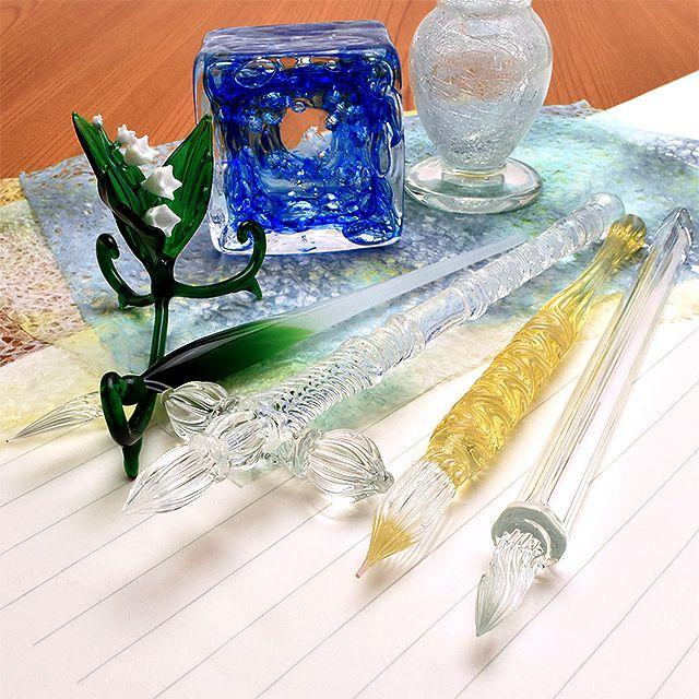 きっと今すぐ欲しくなる『ガラスペン』の魅力と楽しさに迫る