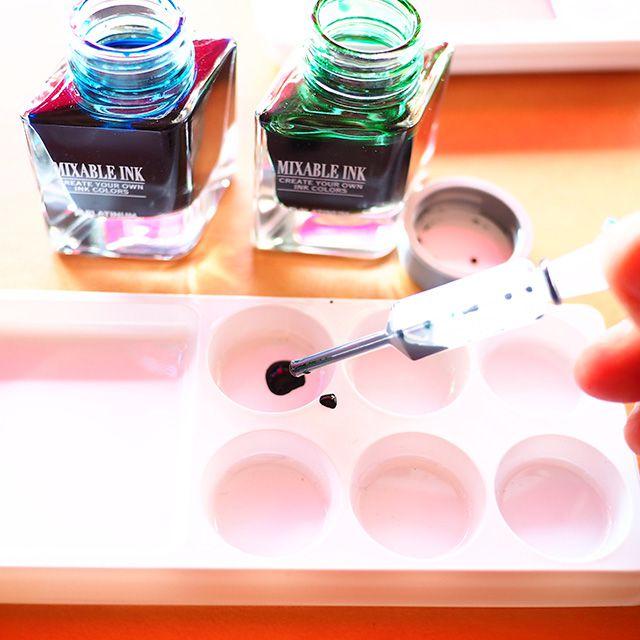 好きな色は自分で作る!ミクサブルインクに挑戦してみよう!