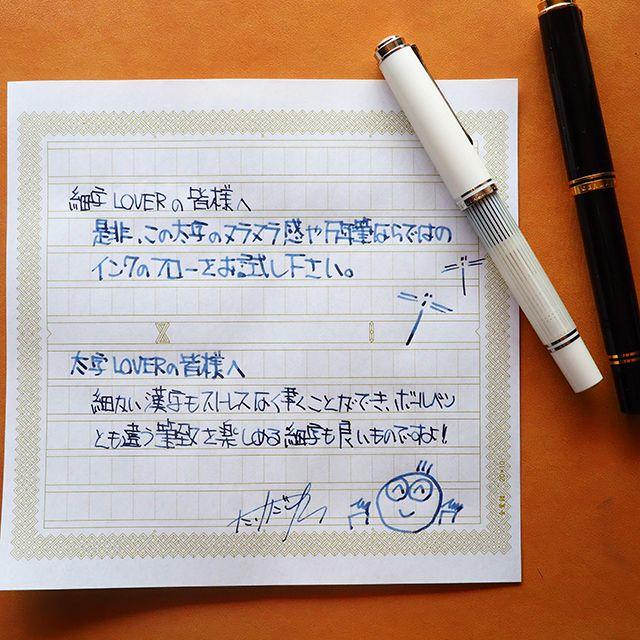 万年筆の字幅チェック~ペリカン編~