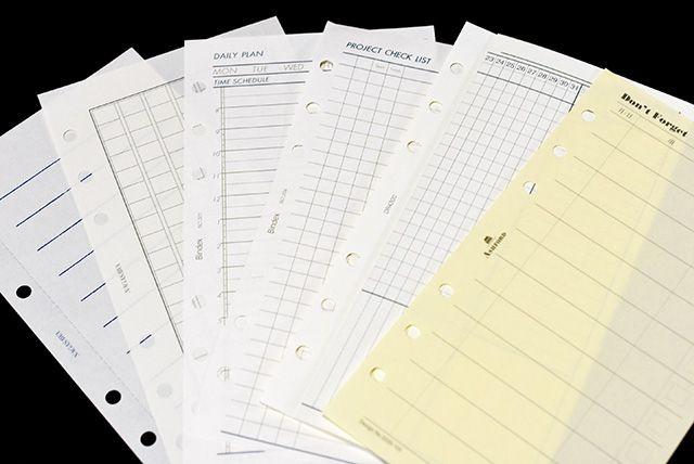 旅をまるごとひとまとめオールインワンで持ち歩くシステム手帳