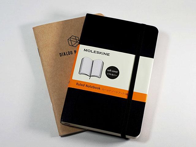 いつでもどこでもログが記録できる小さいノートブック