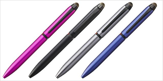 三菱鉛筆 複合筆記具 ジェットストリーム スタイラス 3色ボールペン&タッチペン